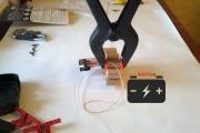Подключение iMax B6 mini к полюсам одного Ni─Cd элемента