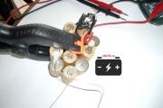 Подключение iMax B6 mini к никель─кадмиевому элементу