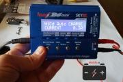 Режим заряда на iMax B6 mini