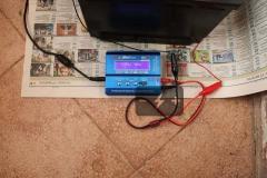 Зарядка с помощью ЗУ iMax B6