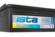 Аккумуляторная батарея Ista Classic