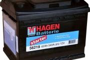 Аккумуляторы Hagen