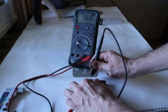 Проверка Кроны 9 вольт мультиметром