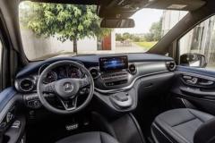 Внутри Mercedes-Benz EQV