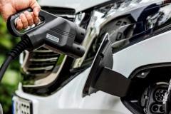 Разъём для зарядки электромобиля