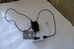Можно через порт USB