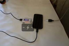 Измерение ёмкости при зарядке смартфона