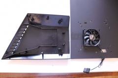 Боковая панель с вентилятором