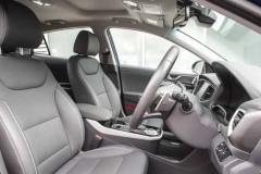 Водительское и пассажирское сидение