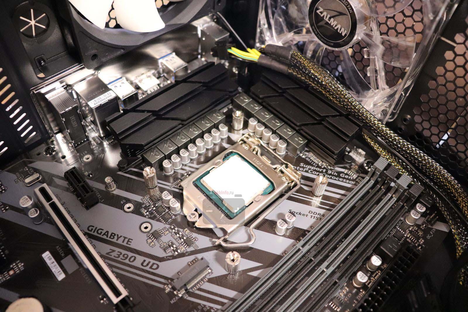 Процессор в сокете