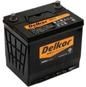 Корейский аккумулятор Delkor