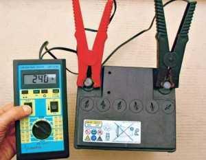 Прибор для проверки аккумулятора