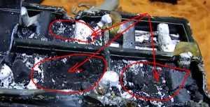 Гелевый аккумулятор с разрушившимися пластинами