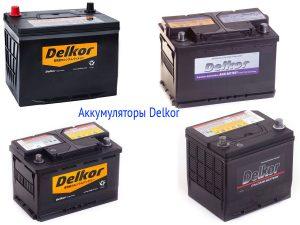 Аккумуляторные батареи Delkor