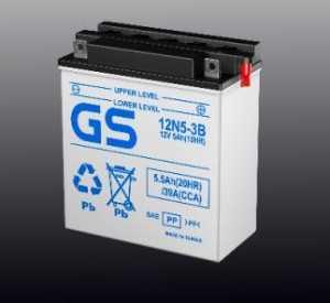 Аккумуляторы GS Conventional