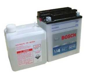 АКБ Bosch M4 Fresh Pack