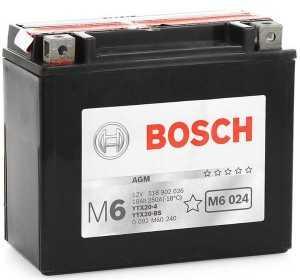 Аккумулятор Bosch M6 AGM