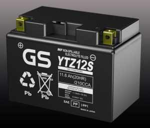 Аккумулятор GS Premium AGM YTZ