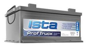 Аккумуляторная батарея Ista ProfTruck
