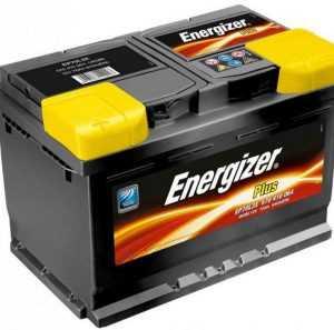 АКБ Energizer Plus