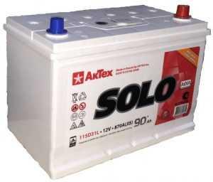 Автомобильный аккумулятор Solo Азия