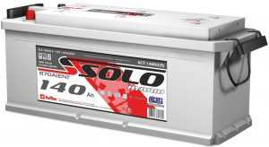 Автомобильный аккумулятор Solo ТТ
