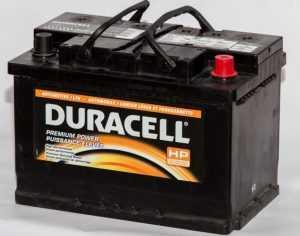 Аккумуляторы Duracell