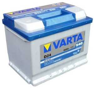 Аккумуляторная батарея Varta Blue Dynamic