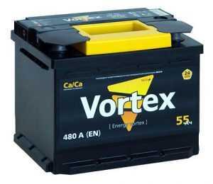 Аккумулятор Vortex для легковых авто