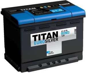 Аккумулятор Titan Euro Silver