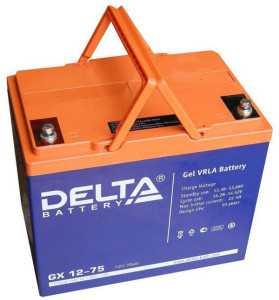 Гелевый аккумулятор Delta