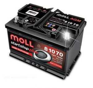 Аккумулятор Moll Start/Stop Plus