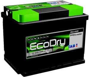 Аккумулятор Tab EcoDry Stop & Go AGM