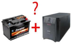Чем отличается автомобильный аккумулятор и батарея в ИБП?