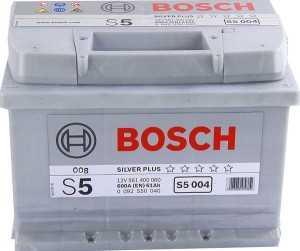 АКБ Bosch S5 Silver Plus