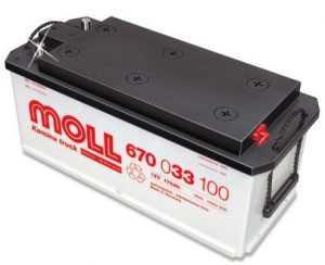 Аккумуляторная батарея Moll Professional truck