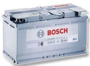 Аккумуляторная батарея BoschS6 AGM HighTec