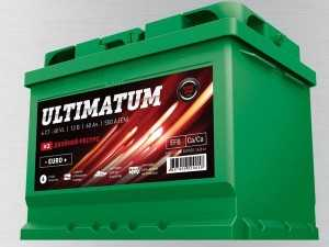 Аккумулятор Ultimatum