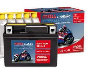 АКБ Moll Mobike AGM