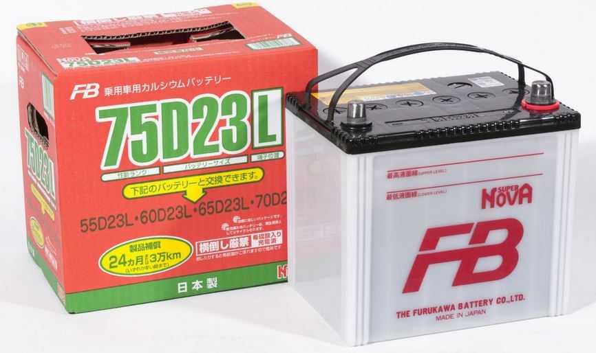 маркировка японских аккумуляторов toyota