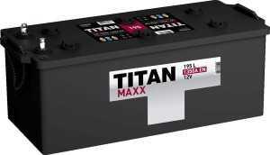 Грузовой аккумулятор Titan Maxx