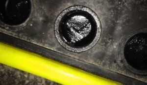 Замерзший электролит в аккумуляторе