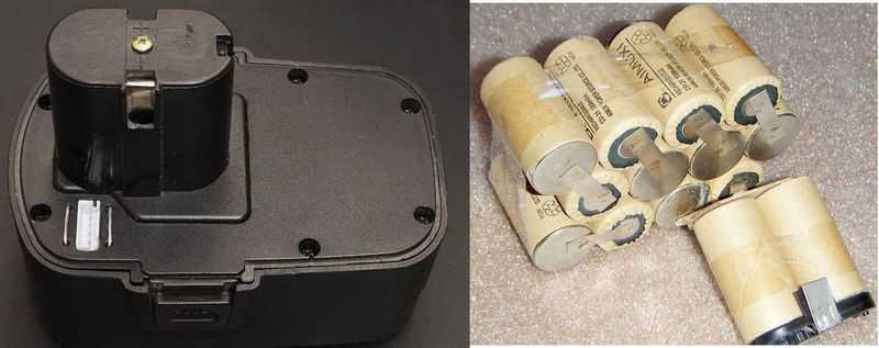 Восстановление мертвого ni-cd аккумулятора шуруповерта