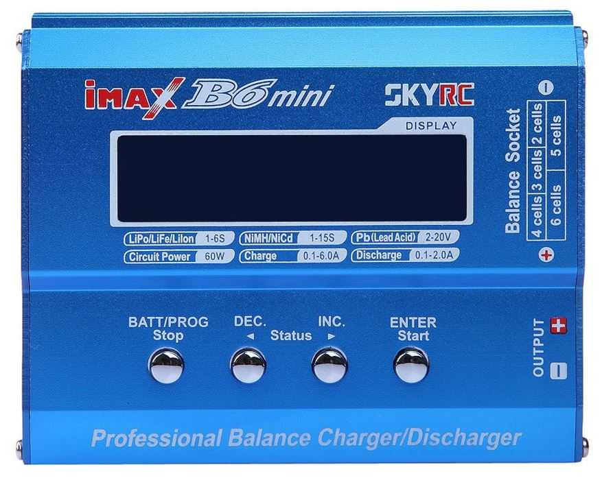 Imax B6 зарядка автомобильного аккумулятора и не только