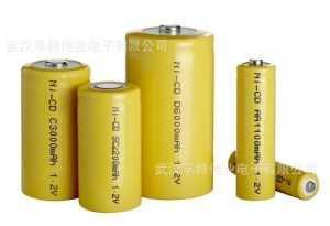 Цилиндрические Ni─Cd аккумуляторы