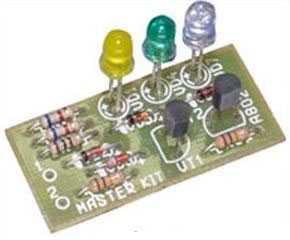 Схема индикатора зарядки