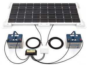 Солнечная батарея для автомобильного аккумулятора