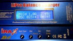 Измерение ёмкости аккумулятора телефона с помощью iMAX B6