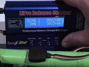 Зарядка Ni─MH аккумуляторов