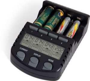 Зарядка Ni-MH аккумуляторов